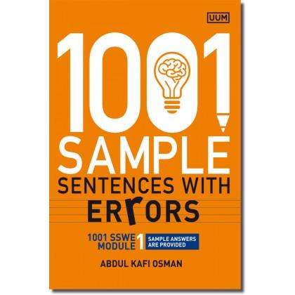 1001 Sample Sentences With Errors