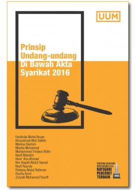 Prinsip Undang-Undang di Bawah Akta Syarikat 2016